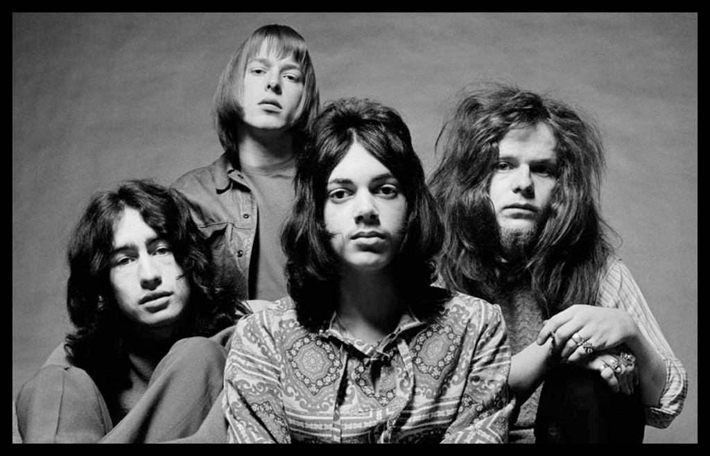 Free - (l to r) Paul Rodgers, Simon Kirke, Andy Fraser and Paul Kossoff