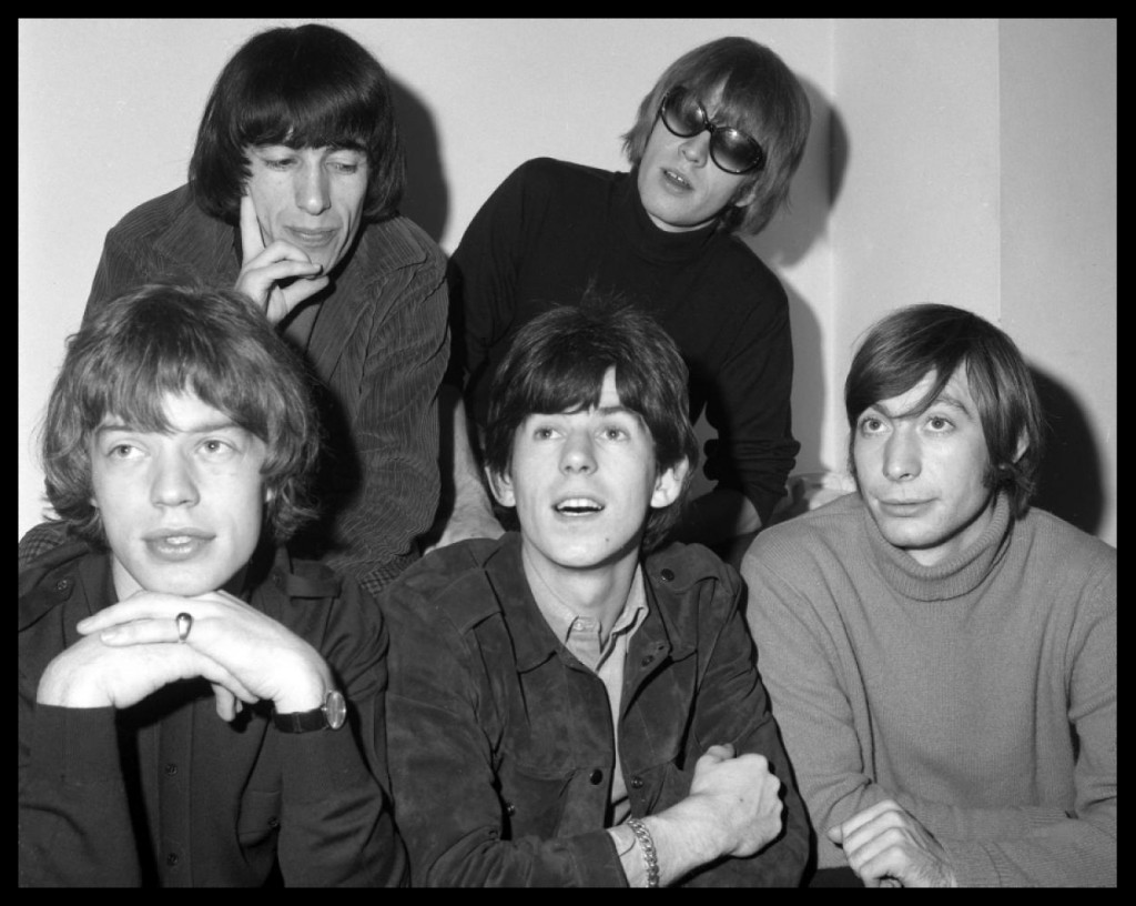 The Rolling Stones are at number 1 with 'Get Off My Cloud'