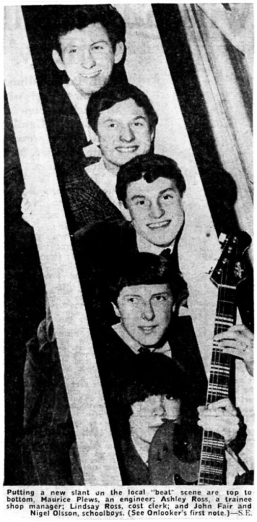 The Fireflies in March 1965