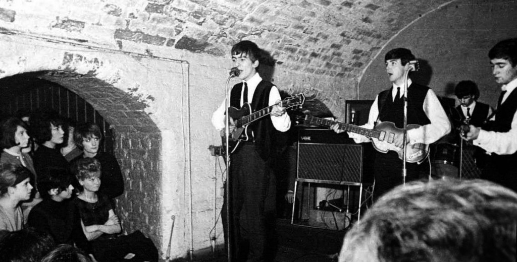 The Beatles at Liverpool's Cavern Club