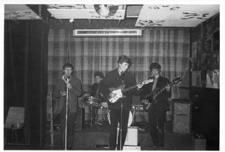 a local band at the el Cubana in 1964 (or 1965)