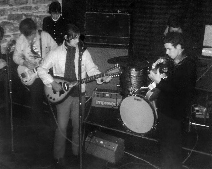 Newcastle band, 'Just Bent' at the el Cubana in 1967)