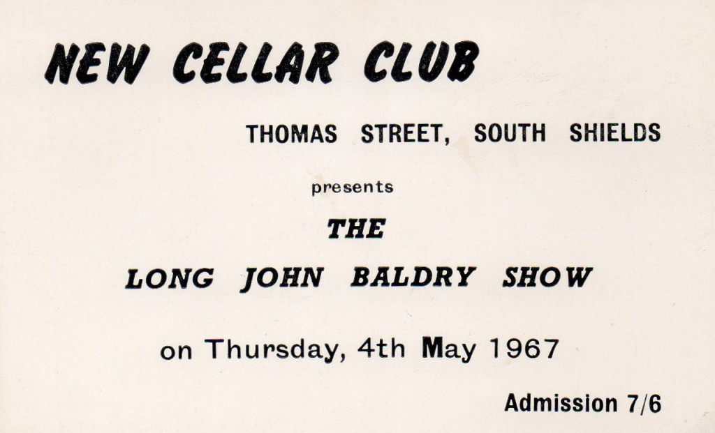 13 Long John Baldry cellar