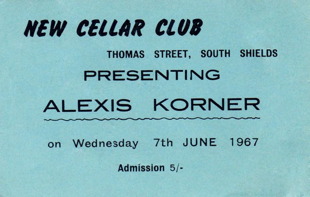 15 Alexis Korner cellar