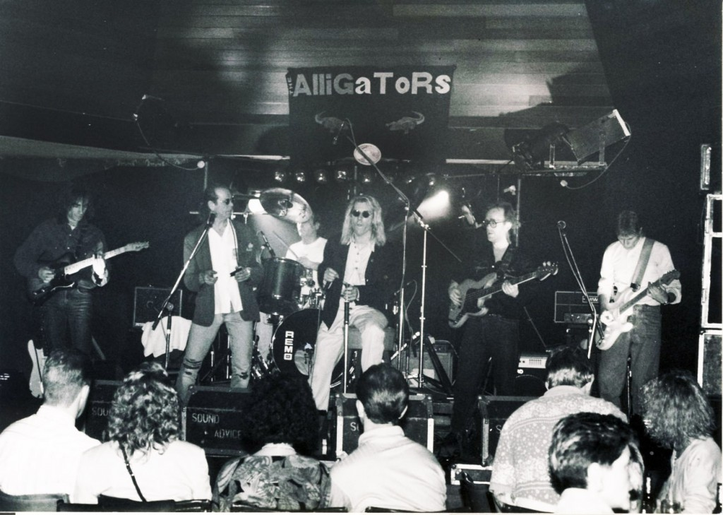 The Alligators at Marden Residents Club, Whitley Bay in 1992