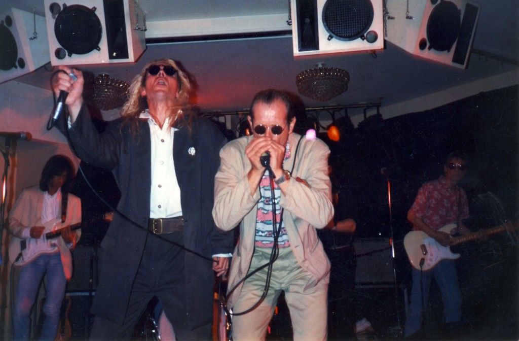 Robert Kane and Bruce at Gothemburg in 1990