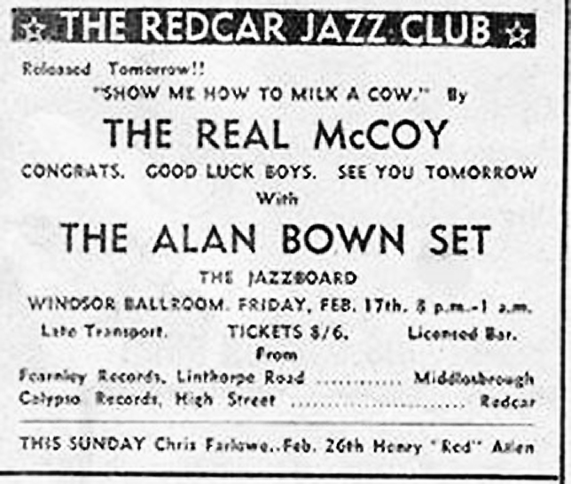 21 Alan Bown ad