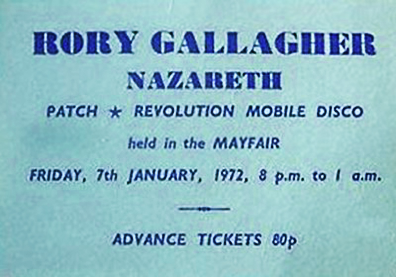 29 Rory Gallagher