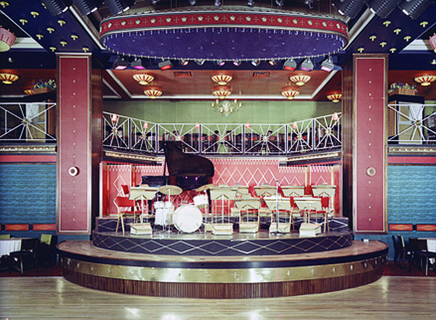 The revolving stage