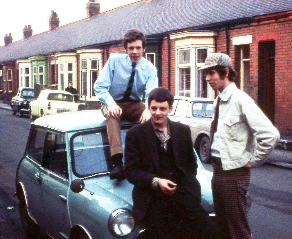 Roger Smith, Jimmy and Bruce Lowes in 1966