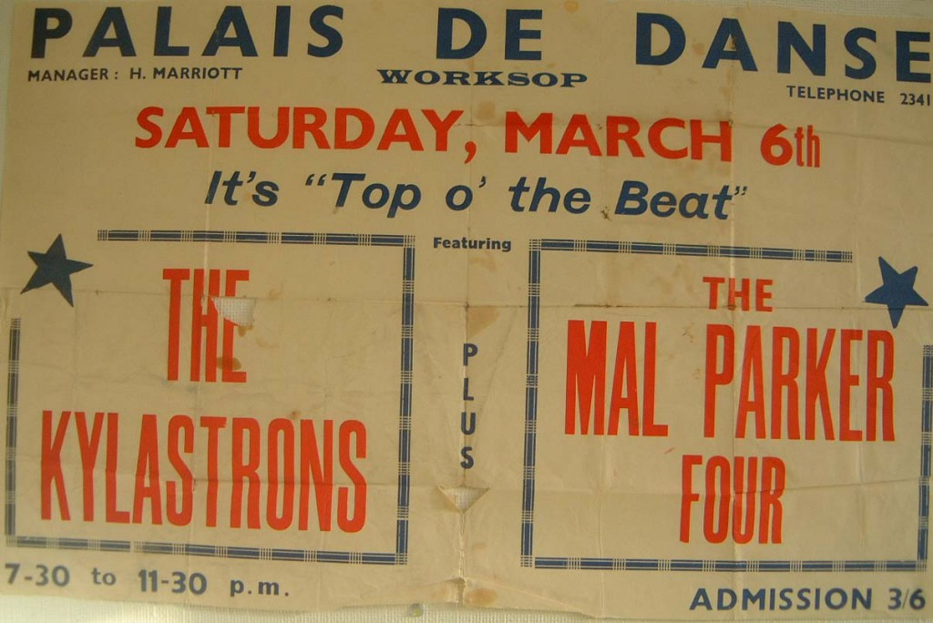 Worksop Palais de Danse poster 6th March 1965