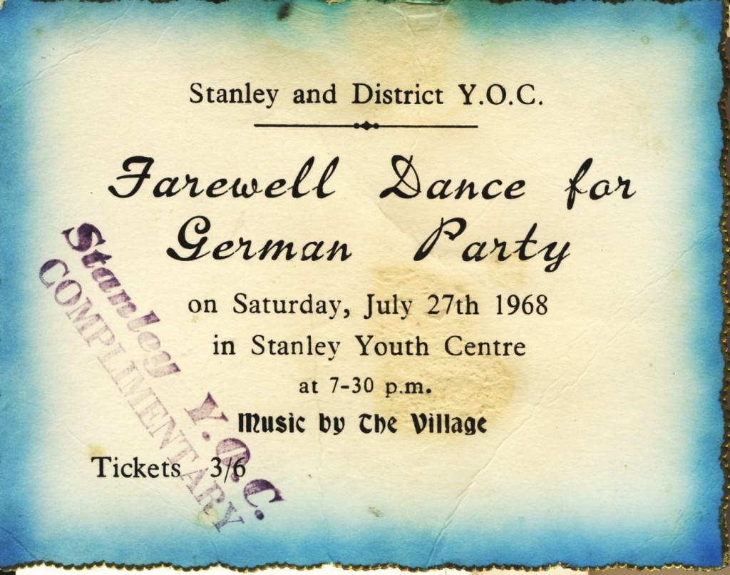 7 stanley village ticket