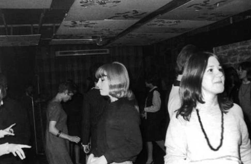Dancers at the el Cubana in 1964 or 1965