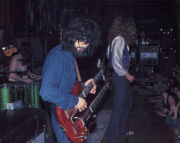 Led Zeppelin at the Mayfair on 18th March 1971