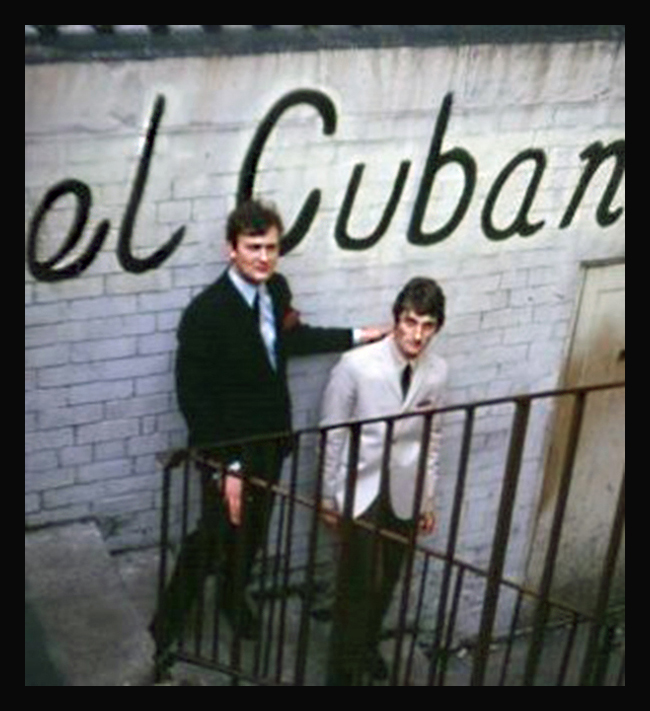 The el Cubana steps in the 1960s