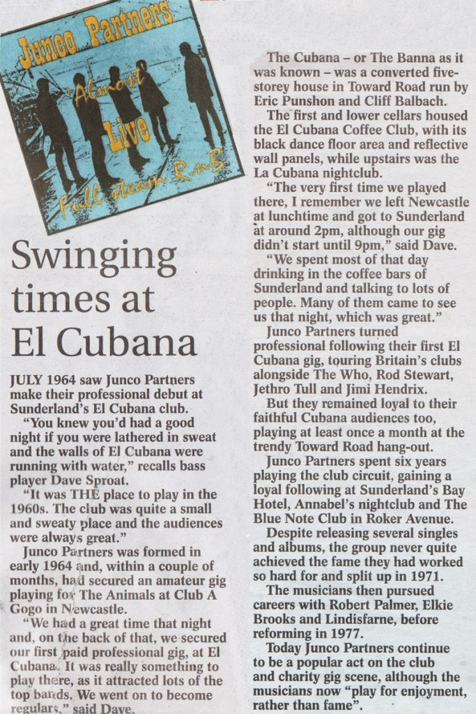 More press about the Juncos at El Cubana