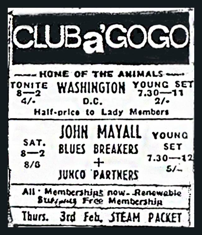 club agogo john mayell