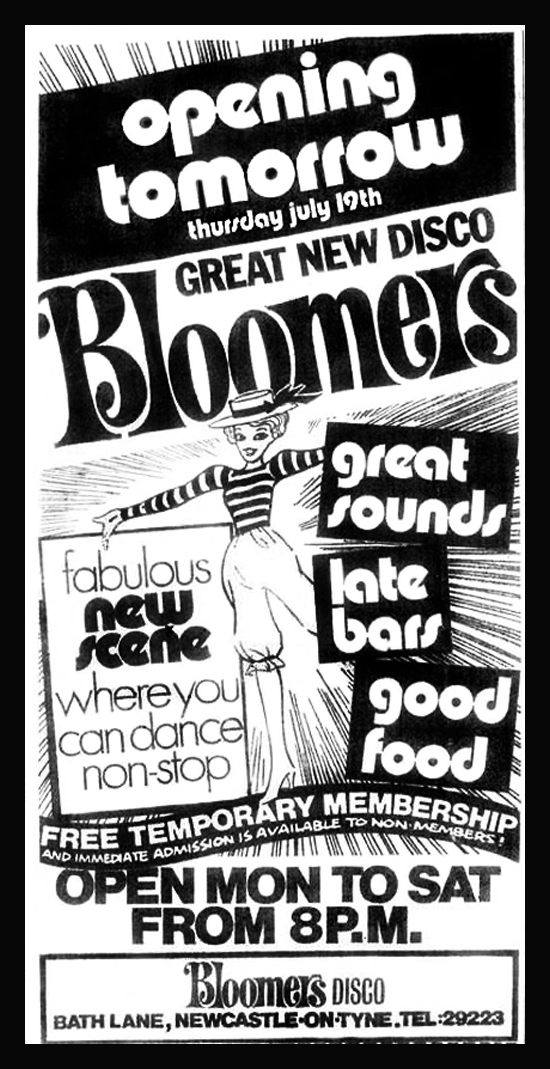 Bloomers news ad