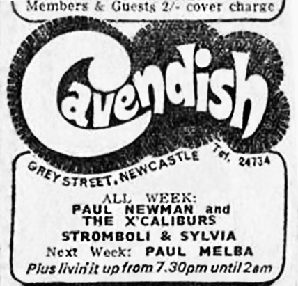 Cavendish advert