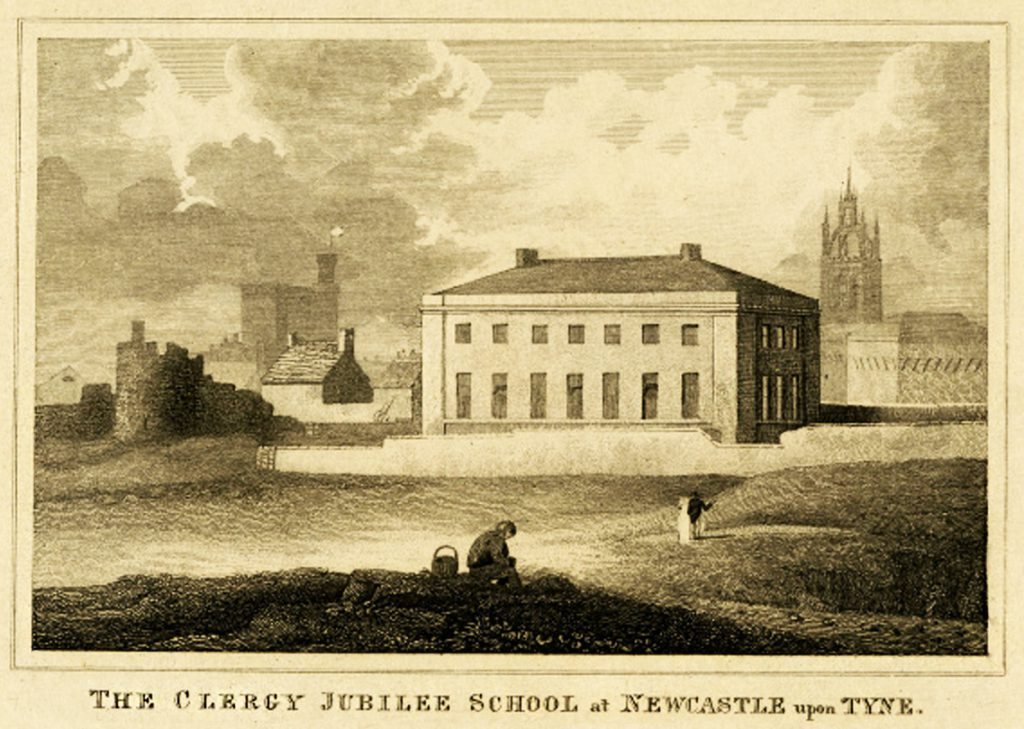 The Clergy Jubilee School in the 19th century - the building that would house the Downbeat in the 1960s