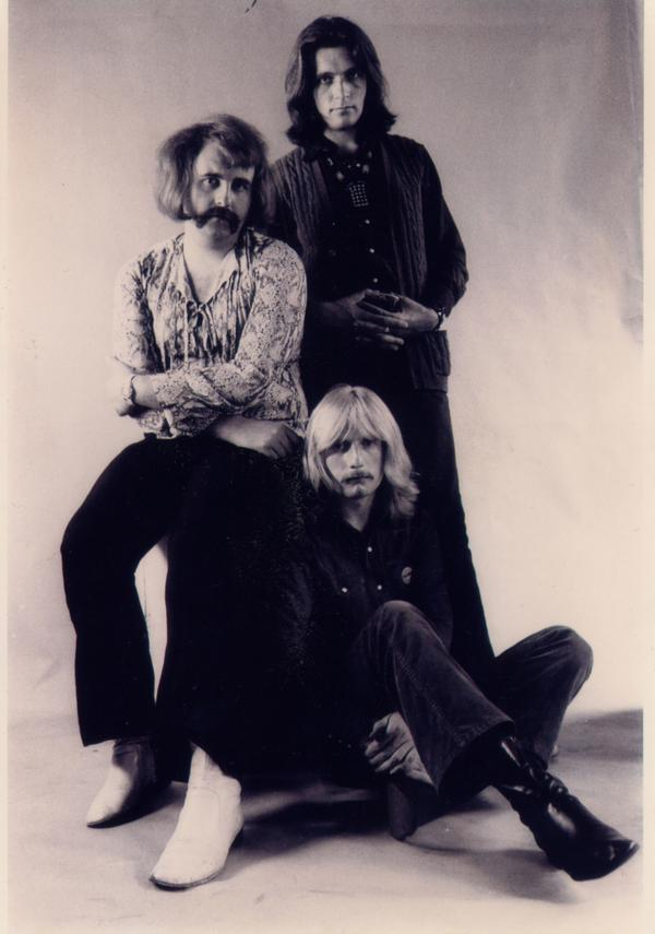Bob Sargeant, John Woods and Dave Sproat – the 3 piece Juncos before the band's split in 1970