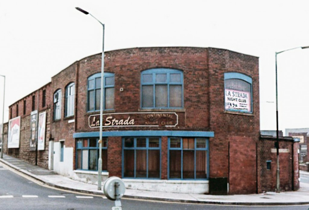 Sanford Goudie's La Strada Club in South Shields