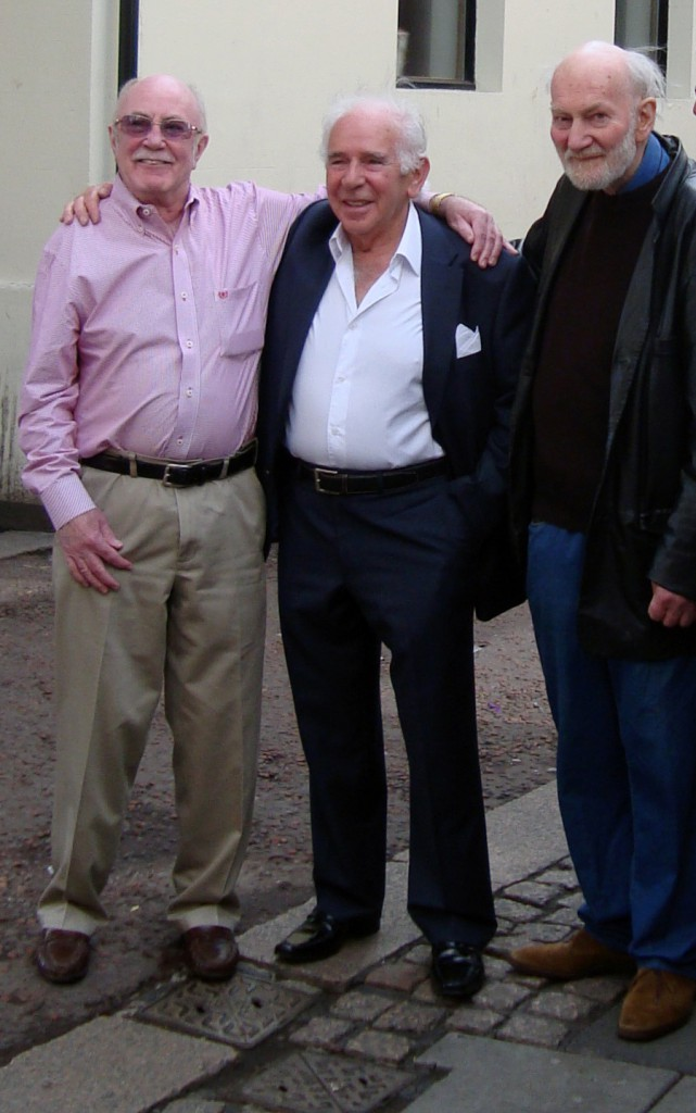 (left to right) Wally Nash, Marcus Levey and Keith Crombie