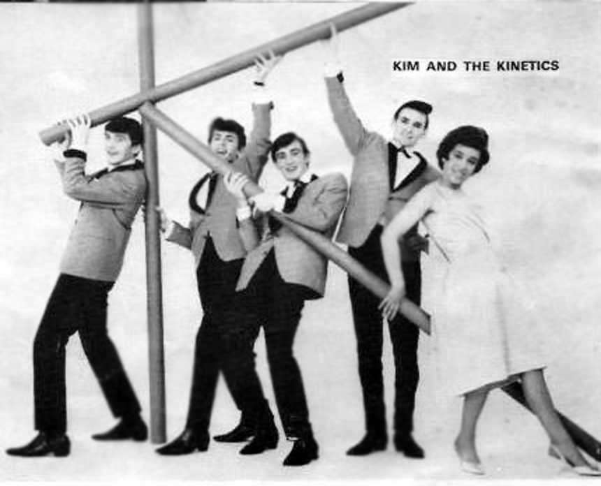 Kim and The Kinetics in 1964