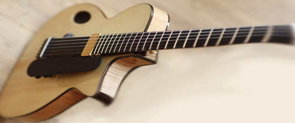 28 cream guitar