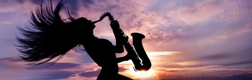 19 sax with sunset