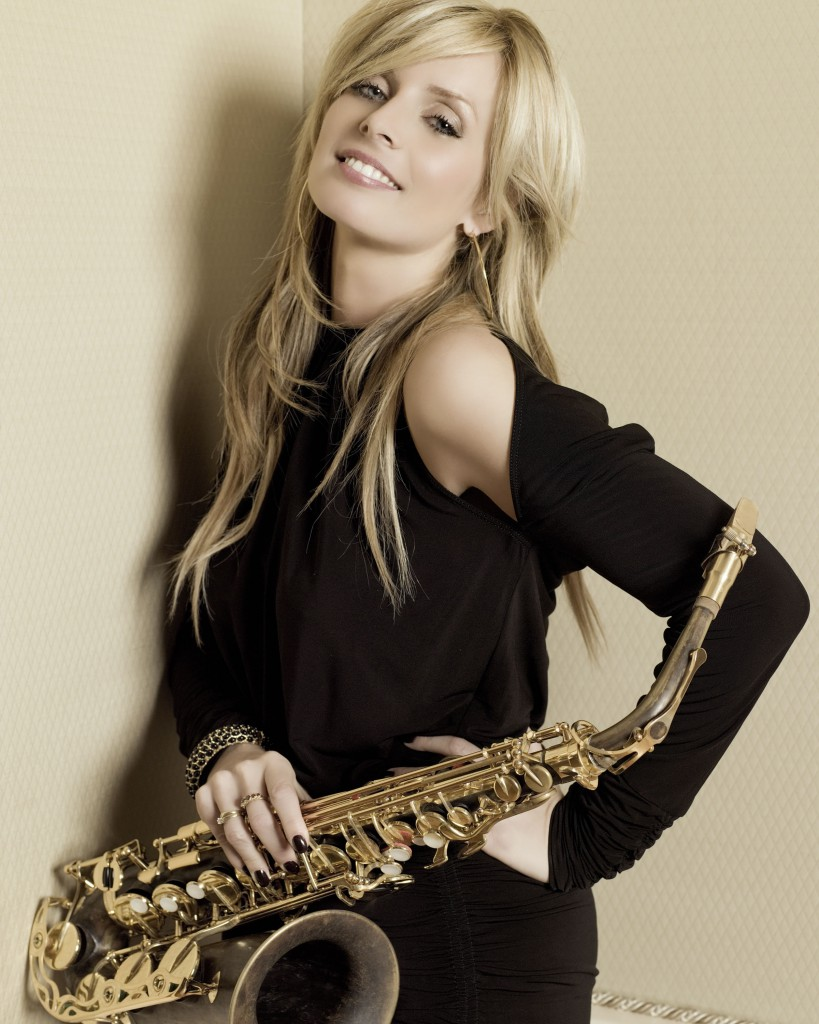 Candy Dulfer - the most photogenic sax player ever?