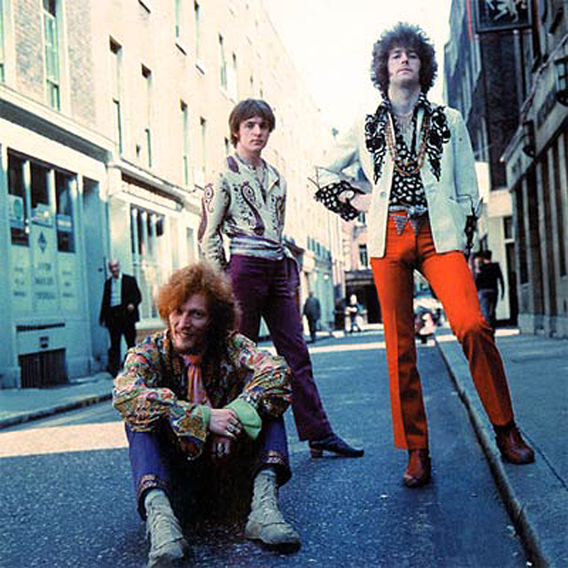 Cream - Ginger Baker, Jack Bruce and Eric Clapton
