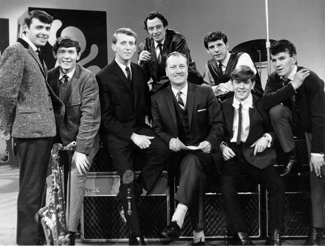 Billy Fury with Gamblers The Hippy Hippy Shake