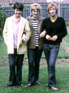 Mod girls - Maureen, Linda and Mauveen in 1963