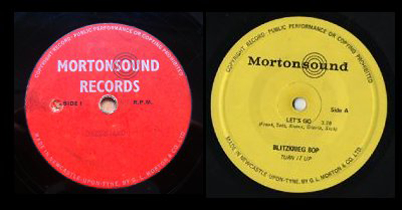 Discs produced at Mortonsound