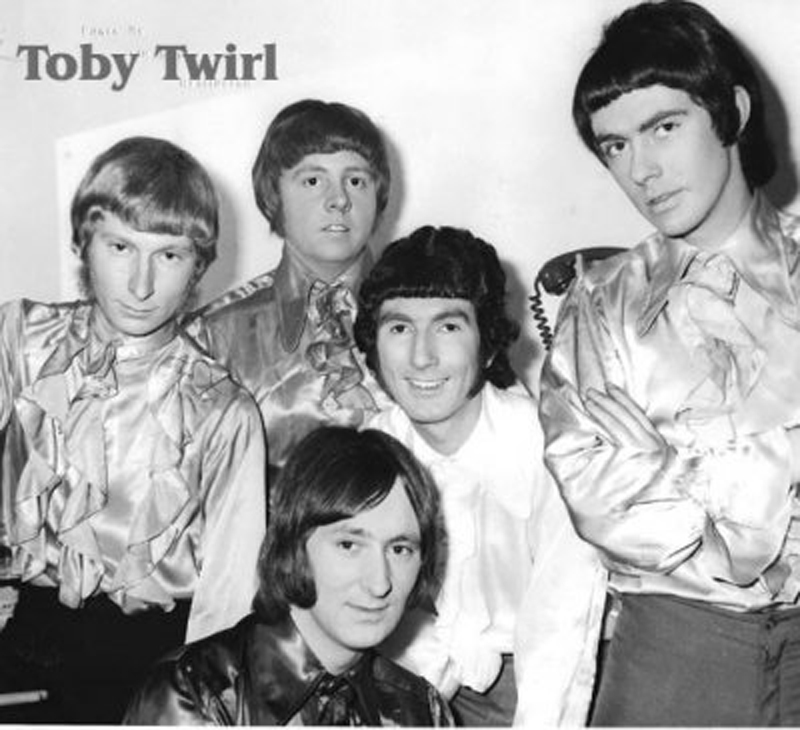 Toby Twirl with Nick - second right