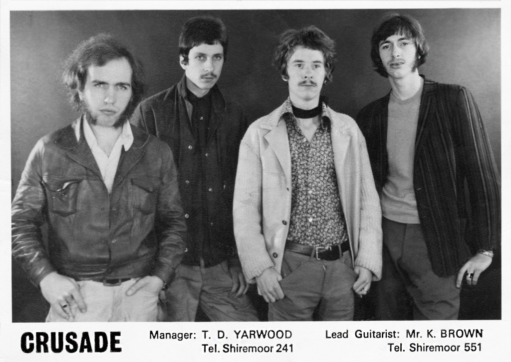 Crusade - (l to r) Steve Chance, John Caley,