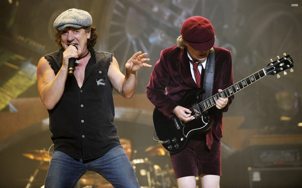 Brian Johnson fronting AC-DC