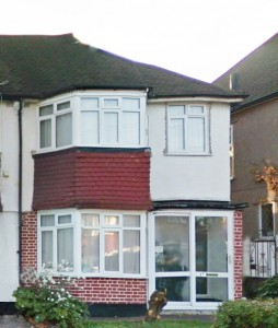 Mike Jeffery's home in Catford in his teenage years
