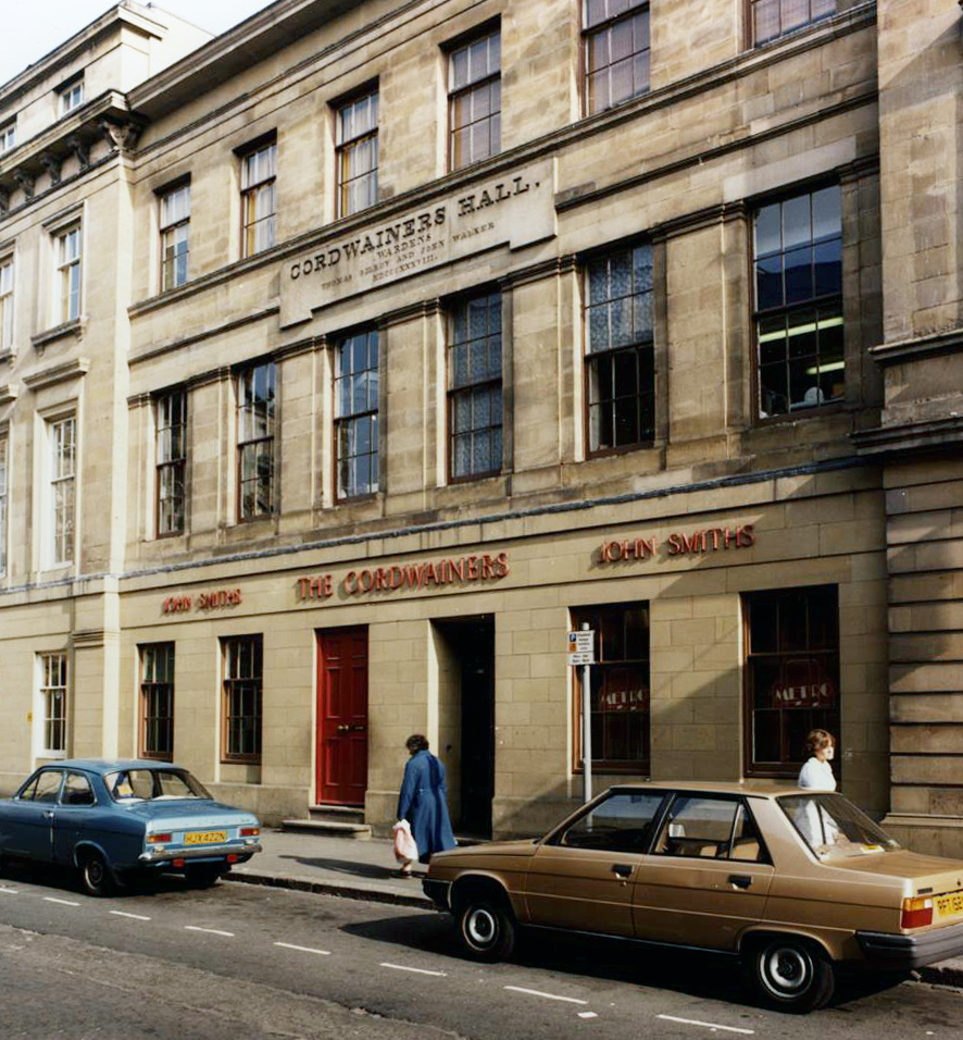 Site of the University Jazz Club on Nelson Street