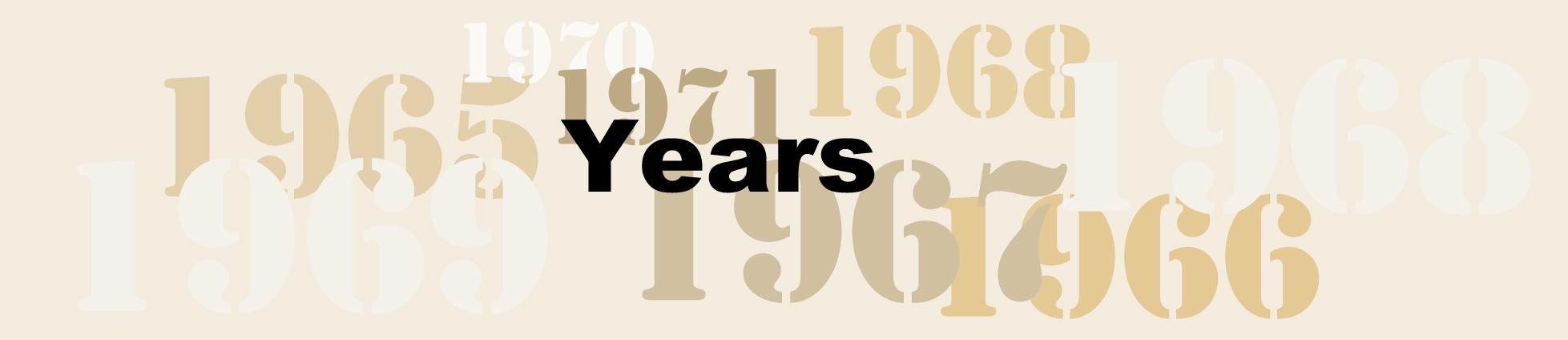 Years banner