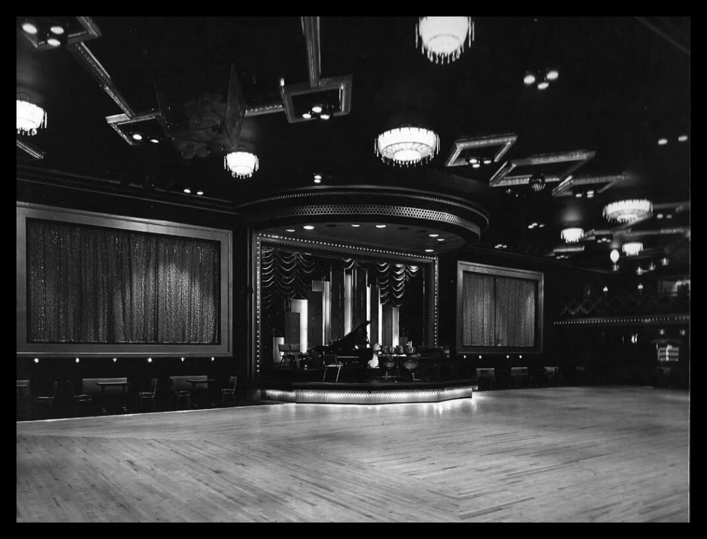 The interior of the Locarno Ballroom, Sunderland